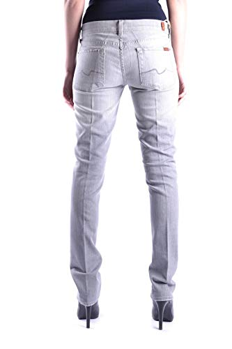 All Mankind Coton 7 Femme Mcbi13115 For Jeans Gris yv8wNPmOn0