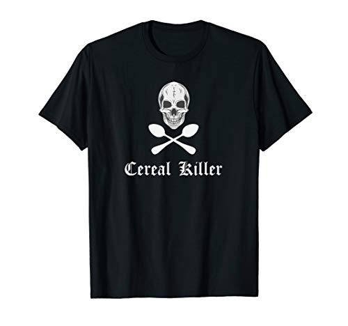 Cereal Killer Funny Serial Spoons Halloween Costume Shirt ()