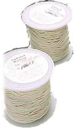 #3/0 (Small) Square Braided Wick: 100 foot Spool