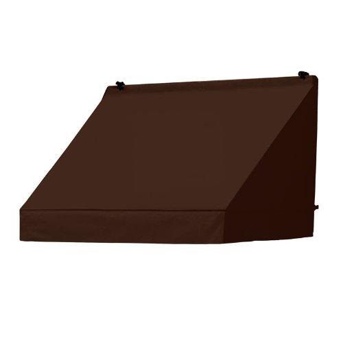 Coolaroo Awnings in a Box Replacement Cover Classic 4-Feet Cocoa (Patio Covers Awning Replacement)