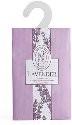 Armour Shell Scented Lavender Sachets with Hangers (12 Pack) - Home Fragrance Lavendar Bags, Family Safe and Easy to Hang in Closets, Clothing Drawers, Storage, Shoes, and Cars. Protect and Defend.