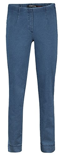 Bleu Jambe 64 Jeans blau Robell mittel droite 42 Bleu Femme qX5zdzw
