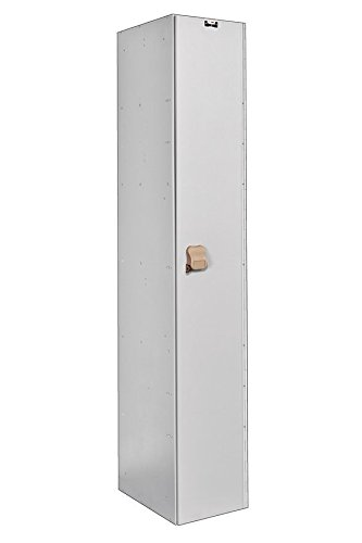 - Hallowell MSPL1282-1A-WE MedSafe Aquamax Antimicrobial HDPE Plastic Locker, Single Tier Color, 12