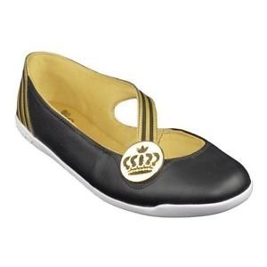 c35fb2eb416 ADIDAS MISSY BALLET PUMPS BLACK LEATHER  Amazon.co.uk  Shoes   Bags