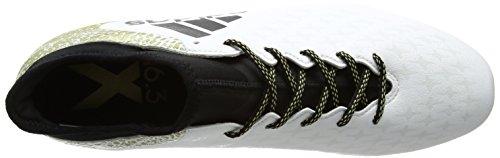 Ftwbla Botas Hombre FG Blanco para Dormet Negbas de 16 Adidas Fútbol X 3 HnCIwWFxvq