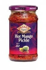 Patak's Hot Mango Pickle (283g) by Groceries