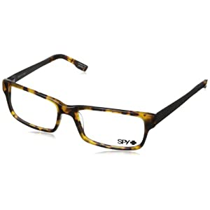 Spy Travis Rectangular Eyeglasses,Tortoise,55 mm