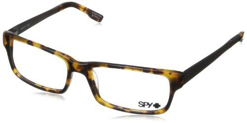 Spy Travis Rectangular Eyeglasses,Tortoise,55 - Spy Frames