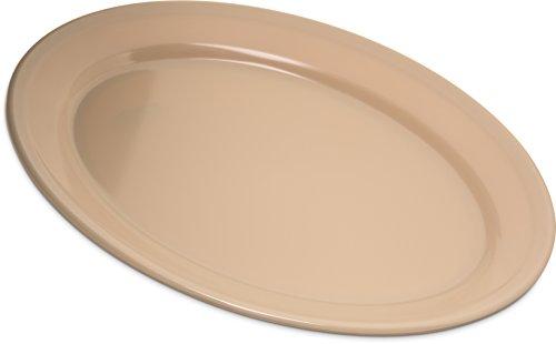 Carlisle 4356025 Dallas Ware Melamine Oval Platter Tray, 12