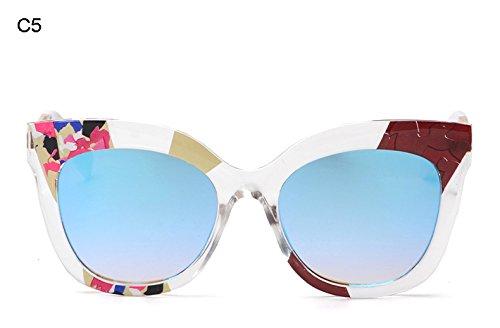 Burenqi Sol Retro Lujo E A Gafas de de Sol de de Nuevas Marcas Mujer Gafas Las de qpI0rxAIw