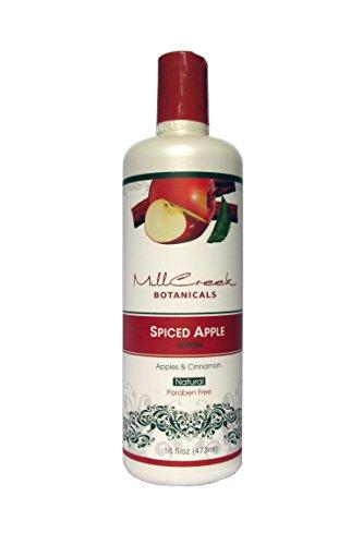 - Mill Creek Botanicals Apple Cinnamon Lotion 16 Ounces