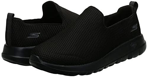 Skechers Men's Go Walk Max-Athletic Air Mesh Slip on Walkking Shoe Sneaker,Black,14 X-Wide US