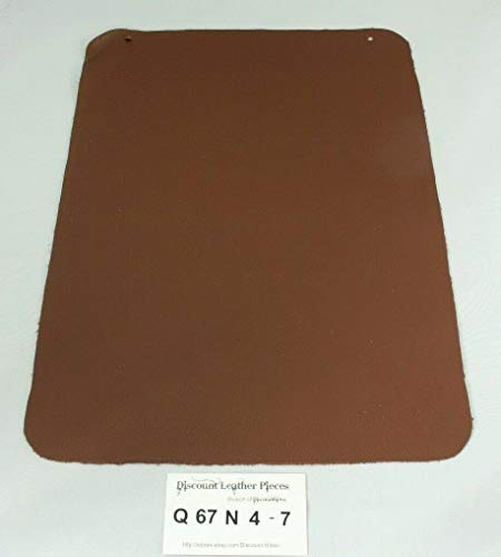 """""""Java Miracle"""" Brown Craft Leather Piece Approx. 15.75"""