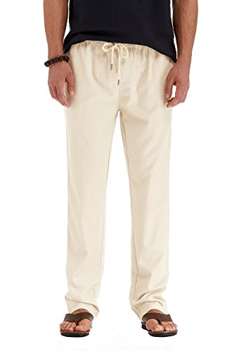 Linen Beach Pants - 3