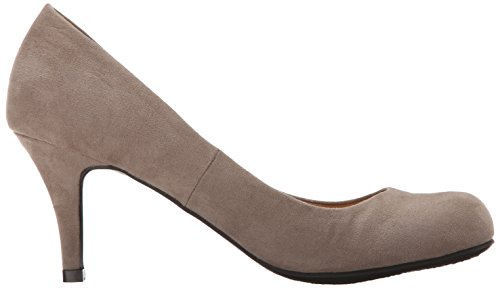 CL by Chinese Laundry Womens Nanette Dress Pump Dark Taupe Super Suede aZuN16nOWx