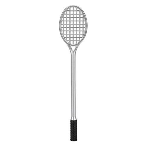 - Mchoice~ Creative Badminton Racket Pen Business & School Supplies Gift (Silver)