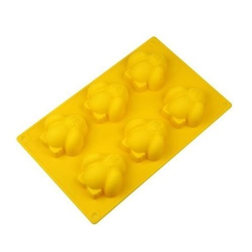 Allforhome(TM) 6 Penguin Silicone Cake Baking Mold Cake Pan Muffin Cups Handmade Soap Moulds Biscuit Chocolate Ice Cube Tray DIY Mold