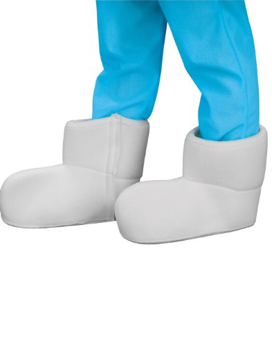 [Rubies The Smurfs: Smurf Shoes Covers] (Blue Bull Mascot Costume)