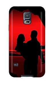High Grade Flexible Tpu Case For Galaxy S5 Emo Loves