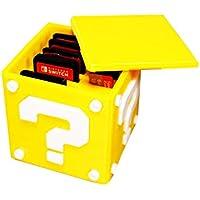 Caixa Case Porta jogos Super Mário Para Cartuchos Nintendo Switch