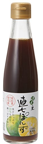 Straight seven-ri straight seventh village ponzu soy sauce - 7 Ri