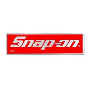 amazon com snap on tools 4 3 4 x 1 5 16 logo decal magnet fridge rh amazon com snap on logo age snap on logo svg