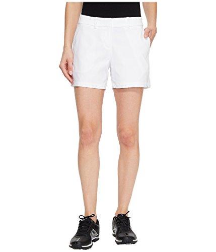 放棄スイプランター[NIKE(ナイキ)] レディースショーツ?短パン Flex Shorts Woven 4.5\ White/White 16 (ウエスト88cm) 4.5