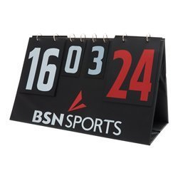 BSN Manual Tabletop Multi-Scoreboard, Double Sided