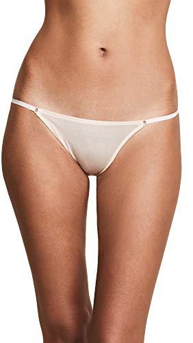Heidi Klum Women's Gloss Bar Bikini, Silver Peony, Large
