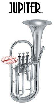Jupiter Silver Plated Eb Alto Horn 456S
