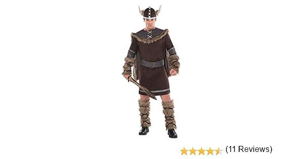 Christys - Disfraz Viking Warrior para hombre, talla M/L (997044)