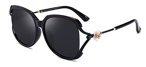 polarisées style du vintage rond de retro cercle lunettes Lennon soleil métallique Un en inspirées EXwIEUq