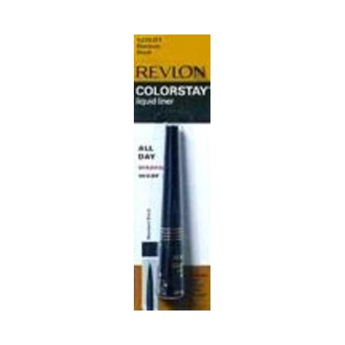 Revlon ColorStay Liquid Liner, Blackest Black 251, 0.08 Ounce (2.5 ml) (Pack of 2) -