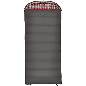 TETON Sports Celsius XL -25F Sleeping Bag; Great for Family Camping; Free Compression Sack