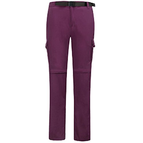 FYM Thickened Skid Trousers Pants Solid JACKETS L Purple Climb Color Resistance W Ski Plush DYF 0gSc0Wr