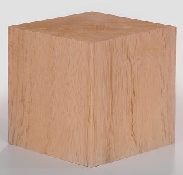 Inch Solid Wood Block Cube product image