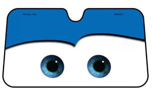 (Napolex Pixar Blue Car Front Window Sun Shade)