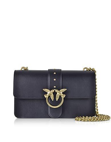 buy online 3d7ab 53419 Luxury Fashion | Pinko Womens 1P216UY4YMG56 Blue Shoulder Bag | Season  Permanent