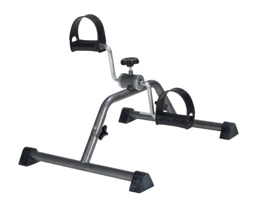Drive Medical Exercise Peddler in Silver Vein Finish