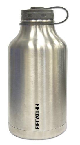 Lifeline 7500 Silver Stainless Growler