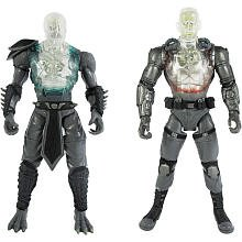 Pack Costumes Kombat 2 (Mortal Kombat Internal Devastation X - Ray Pack 6 inch Reptile and Jax 2 pack Action)