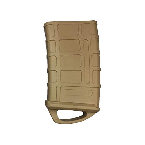 Stoveng Hunting Tactical Rubber Fast Mag Magazine Pouch Bag Holster for M4/M16 5.56 NATO (Sand Color,25x25x15cm)