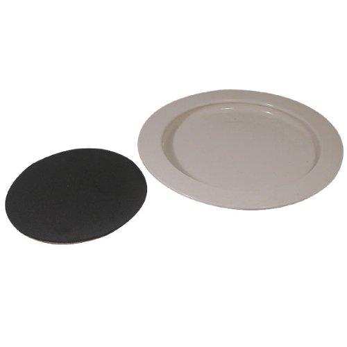 Inner-Lip Plate w-Non-Skid Bottom