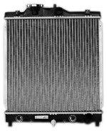 TYC 2273 Honda Civic 1-Row Plastic Aluminum Replacement Radiator (Radiator Replacement Oem)