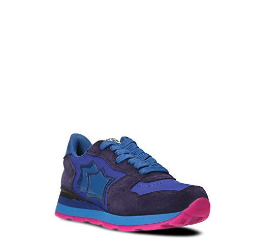 Viola Stars Sneakers Camoscio Donna Atlantic Gemmagv20n C068wxqnR