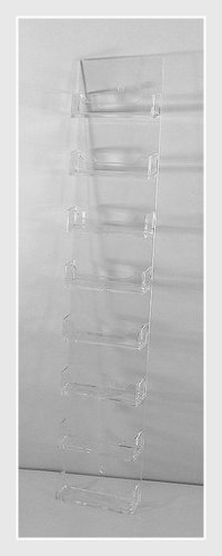 Amazon dazzling displays clear acrylic 8 pocket wall mount dazzling displays clear acrylic 8 pocket wall mount business card holder colourmoves