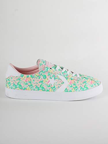 Converse Breakpoint Floral Ox Textile bianco Pink Menta Sneakers Donne Blu vapor white Basse wwS6Odqxr