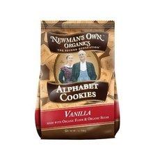 Newman's Own Organics Alphabet Vanilla Cookies (6 x 7 Oz)