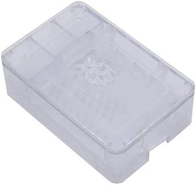 Silverdewi Raspberry Pi Caja de Caja V4 Raspberry Pi ABS Carcasa Individual Raspberry Pi Carcasa de ABS para Raspberry Pi 4B: Amazon.es: Jardín