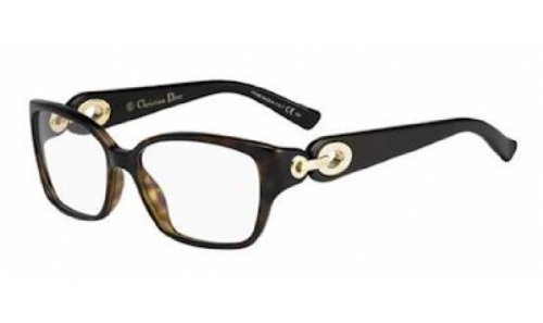 DIOR Eyeglasses 3267 0EWF Havana 54MM (Christian Dior Cd Eyeglasses Frame)